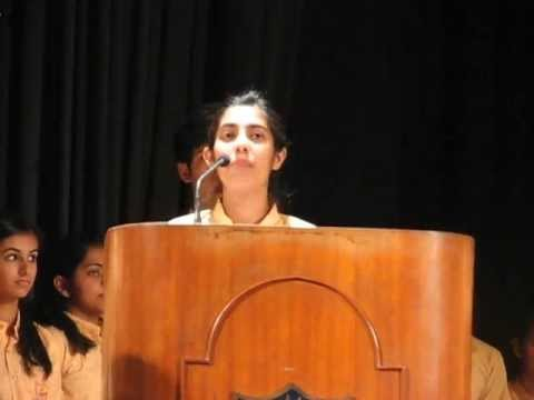 Vote of Thanks Vice Head Girl - 12 April '13 Investiture Ceremony