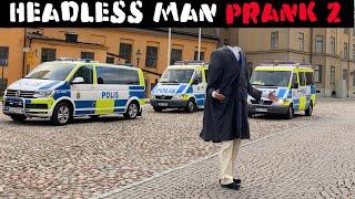 Headless Man Prank 2 (improved) -Julien Magic