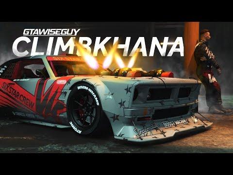 GTA 5 Climbkhana Remake Drift Tampa V2 GYMKHANA DRIFTING!