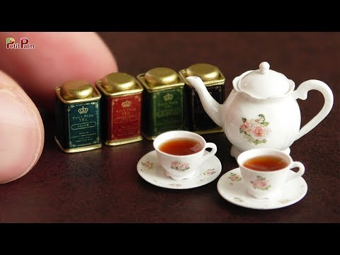 DIY Miniature Tea Pot & Tea Cup | Petit Palm