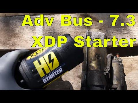 7.3 powerstroke E350 Adventure Bus- XDP Starter & Odyssey Battery Install
