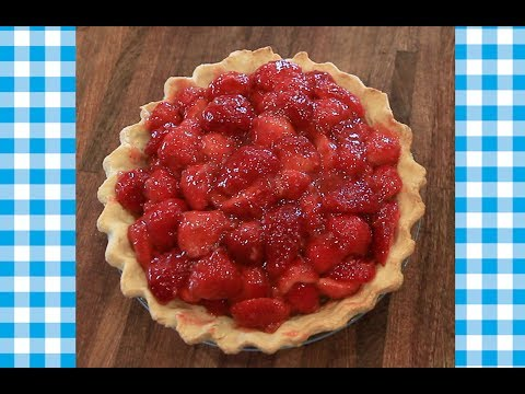 How to make: Fresh Strawberry Pie - A classic summertime recipe
