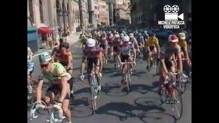 Giro Dell'Umbria di ciclismo (2 agosto 1986) filmato RAI
