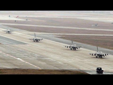 Exercise Vigilant Ace 18 Elephant Walk At Osan Air Base