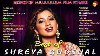 Best Of Shreya Ghoshal , Nonstop Malayalam Film Songs