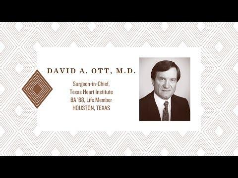 2017 Distinguished Alumnus: David A. Ott