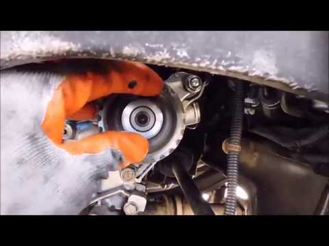 Honda Accord timing belt installation tips and tension procedure (1990 - 2002)