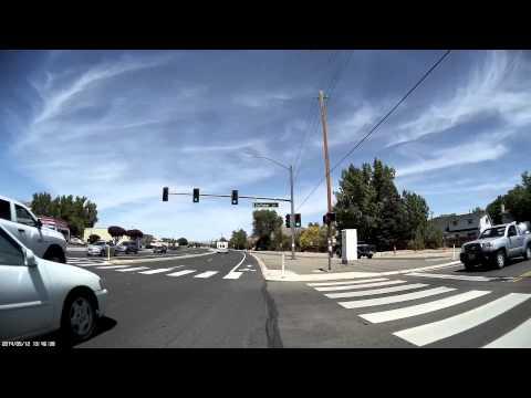REMSA Ambulance Code 3 Through Huffaker and Longley Intersection Reno, Nevada