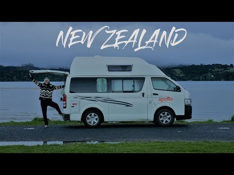 Travel New Zealand in a campervan | VANLIFE