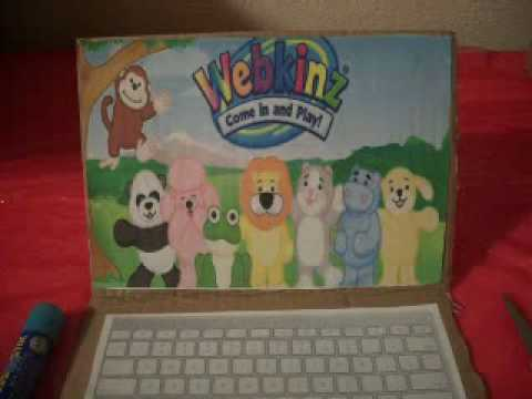 How To Make A Laptop For Your Webkinz!(: