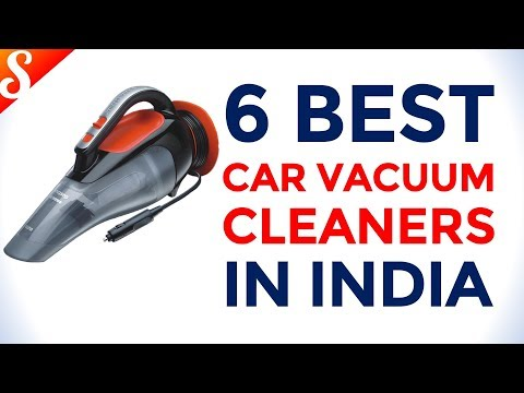 6 Best Car Vacuum Cleaners in India with Price