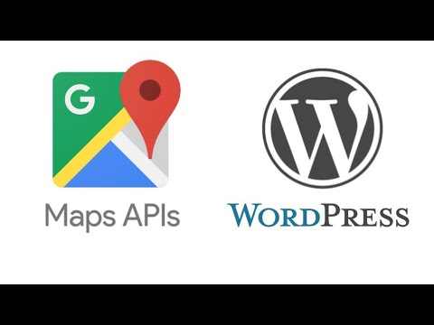How To Create Google Maps API + Add to WordPress without plugin (fast & easy)