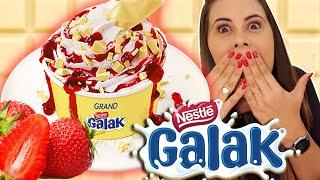 GALAK!!! Sobremesas de VERÃO do Giraffas
