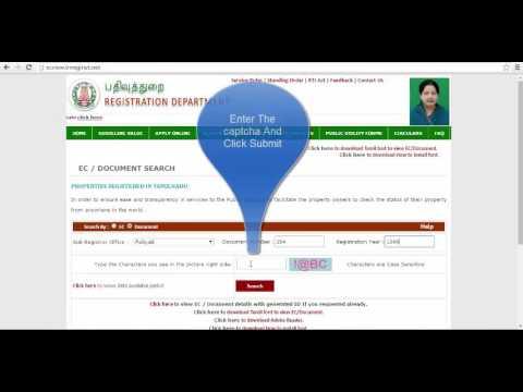 Download EC | View EC | Download Ecumberance Certificate | View Ecumberance Certificate by doc num