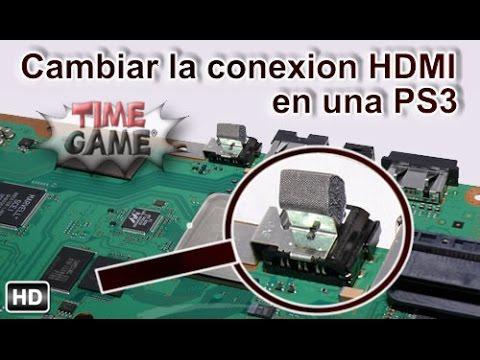 Como cambiar la conexion HDMI en PS3 fat / slim