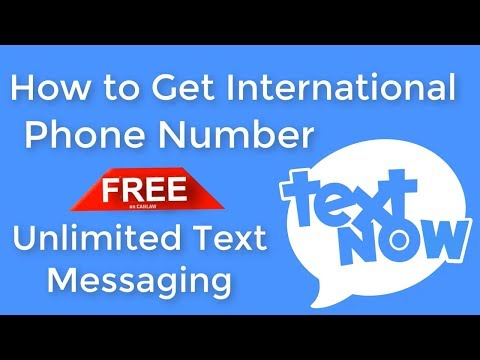 How to Get International Phone Number FREE