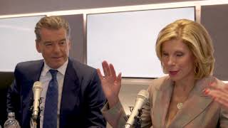 'I sing less in this movie, not sure why': Pierce Brosnan and Christine Baranski on Mamma Mia 2!
