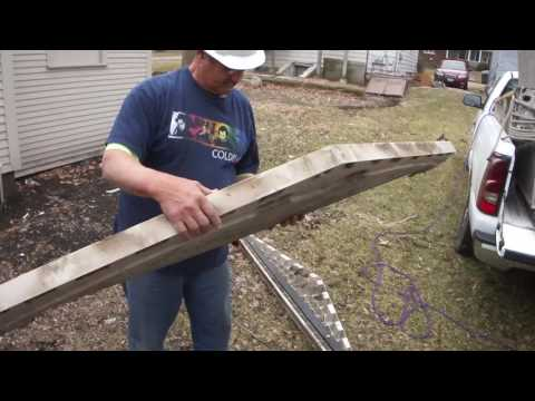 Greg Zanis Moves and Rebuilds A Old Shed