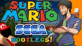 Bootleg Mario Games on Sega Genesis - SpaceHamster