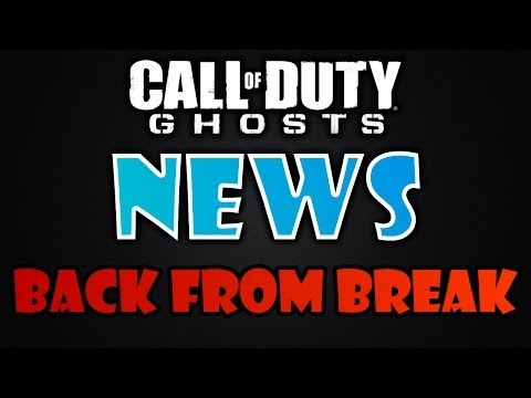 Returning From Break - Let's Talk | COD Ghosts