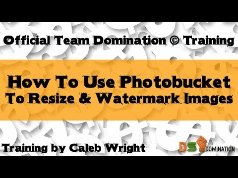 Free Photo Editor Online | How To Resize & Watermark Images for DS Domination