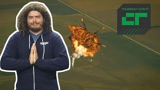 The Many Faces of SpaceX Explosions   Crunch Report
