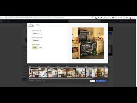 How to Create a Video Slideshow in Facebook for Free