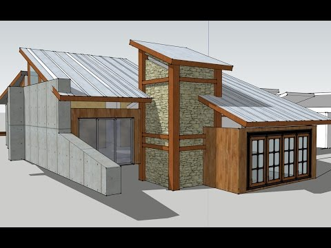4k HD: Building your own timber frame home: The lot introduction