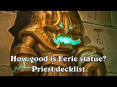 hearthstone eerie statue silence priest decklist