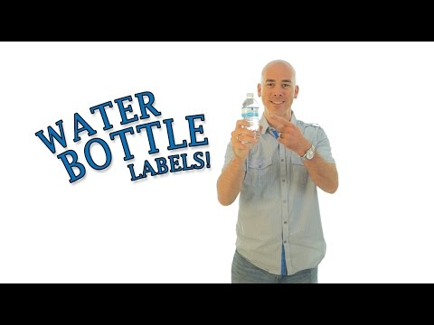 DIY Water Bottle Labels - Make Your Own Labels & Save!