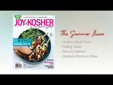 Summer 2017   JOY of KOSHER Magazine