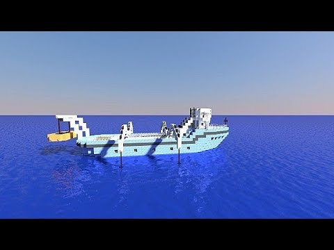 Minecraft how to make a moving boat without mods!
