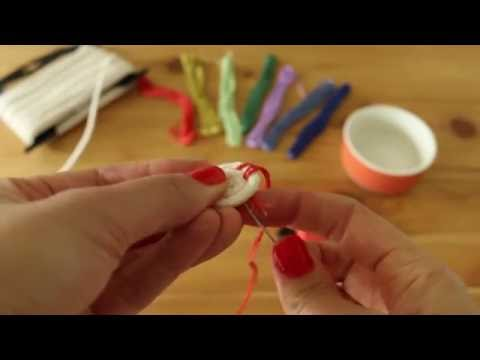 DIY Rope Coil Basket - Part 1 (Starting Your Coil)