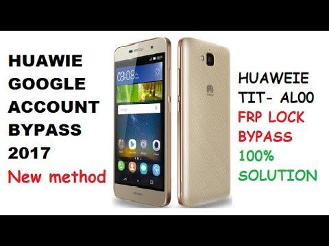 HUAWEI TIT-AL00 FRP Lock Bypass 100% SOLUTION - Getplaypk |
