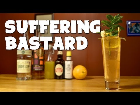 Suffering Bastard - How to Make the Classic Tiki Drink & the History Behind It