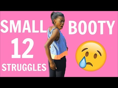 12 SMALL BOOTY STRUGGLES Only Girls Understand!!