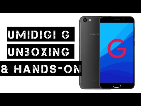 Umidigi G budget Android like a Iphone 7