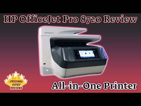 Item review - HP OfficeJet Pro 8720 All-in-One Printer