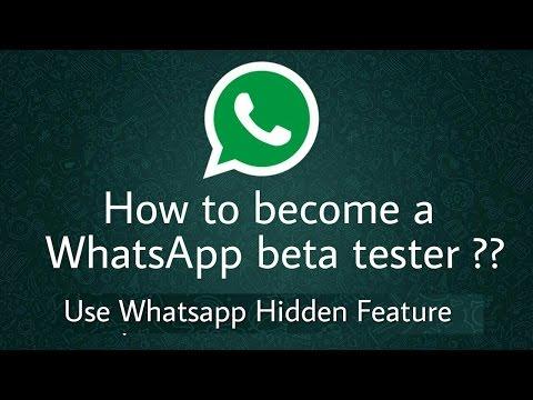 How To Become Whatsapp Beta Tester | WhatsApp New Update Status | Whatsapp Tricks  2017