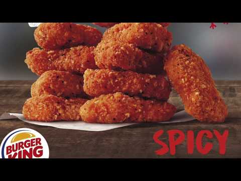 Burger King Spicy Chicken Nuggets Review (Black and White Review)