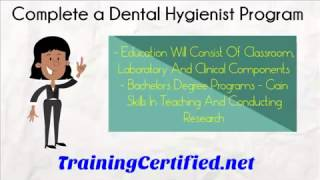 How To Become A Dental Hygienist What Are The Steps