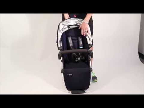 SERVICE IN SECONDS - Removing UPPAbaby Seat Fabrics