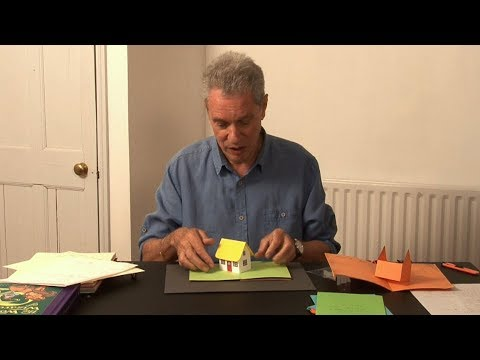 Pop-Up Tutorial 31 - Pop-Up House - Birthday Card