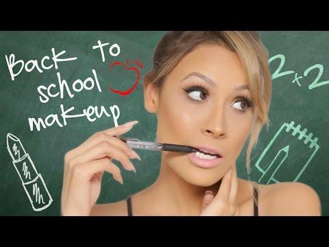 Back to School Makeup & Hair Tutorial