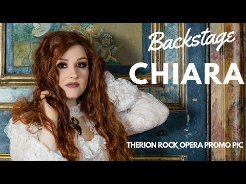 Backstage Servizio Fotografico con Chiara Malvestiti / Therion rock opera promo pics [SUBS ENG]