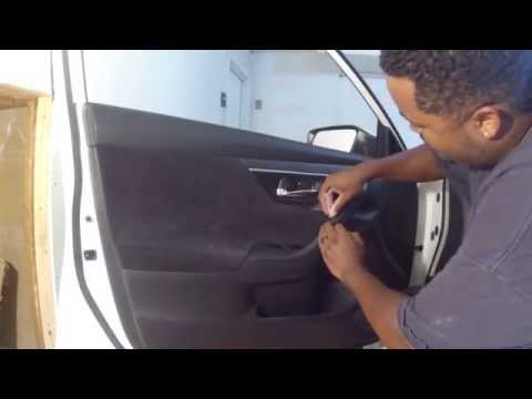 How To Remove Door Panel - Nissan Altima 2013, 2014, 2015
