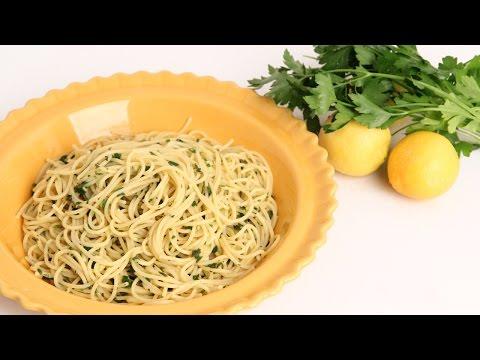 Lemon & Herb Spaghetti Recipe - Laura Vitale - Laura in the Kitchen Episode 912