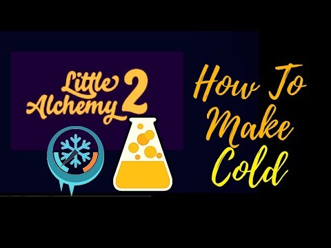 Little Alchemy 2-How To Make Cold Cheats & Hints