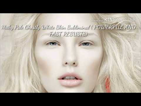 Get Extremely Ghostly Pale Milky White Skin Subliminal ( Powerful and Faster results)