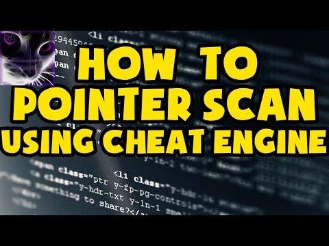How to POINTER SCAN using Cheat Engine